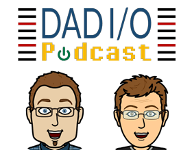 Dad I/O Podcast Logo